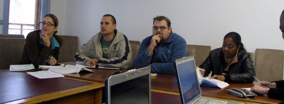 Weekly seminars