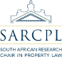 South African Research Chair in Property Law (SARCPL)