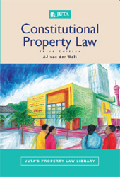 Book cover: Constitutional Property Law