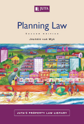 Book cover: Planning Law