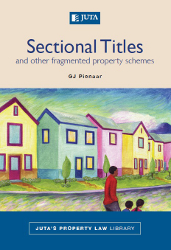 Book cover: Sectional Titles