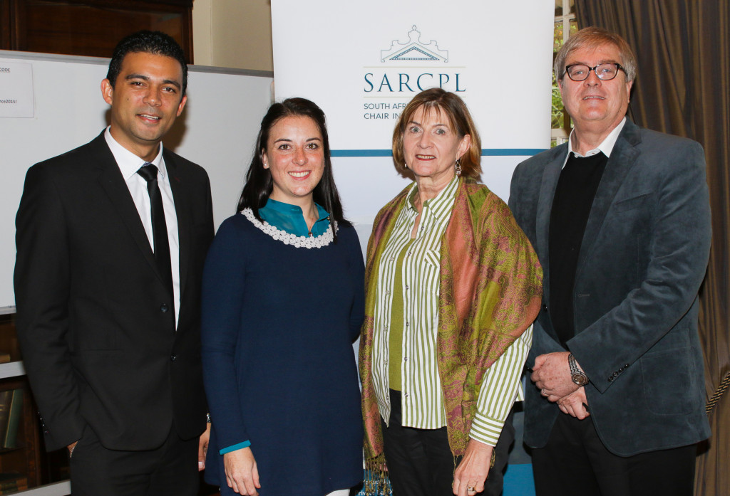 Dr Bradley Slade, Dr Cheri Young, Prof Jeannie Van Wyk, Prof AJ van der Walt
